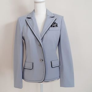 St.John sport light blue blazer